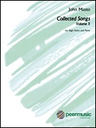 John Musto - Collected Songs for High Voice - Volume 5 (00128212)