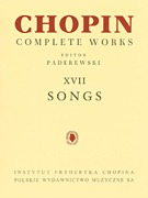 Complete Songs of Chopin, Op. 74 Polish Text (00132327)
