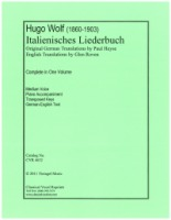 Italienisches Liederbuch by Hugo Wolf Medium Keys Complete (4632)