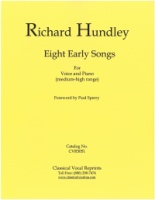 Eight Early Songs - Richard Hundley (5051)