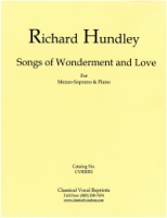 Songs of Wonderment and Love - Richard Hundley (5052)