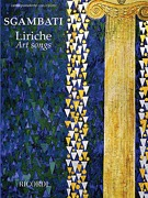 Liriche - Art Songs by Giovanni Sgambati edited by Elisa Morelli (50600179)