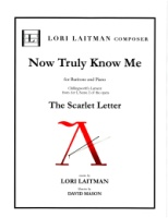 Scarlet Letter Chillingworth's Aria Now Truly Know Me (Revised 2018) (5112)