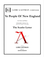 Scarlet Letter Dimmesdale's Aria Ye People of New England (Revised j2018) (5118)