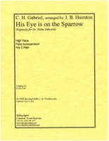 His Eye is on the Sparrow arranged by Jacqueline B. Hairston (5158)