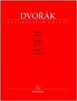 Dvorák, Antonín Songs Volume 2 for High Voice and Piano (BA11517)