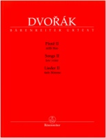 Dvorák, Antonín Songs Volume 2 for Low Voice and Piano (BA11518)