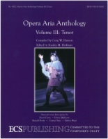 Opera Aria Anthology Volume 3 Tenor ECS6002 (ECS6002)