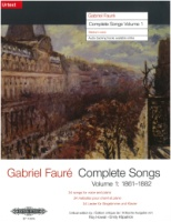 Gabriel Faure Complete Songs Volume 1 (34 Songs) Medium Voice (EP11391b)