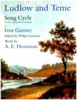 Ludlow and Teme - Song Cycle for Tenor, String Quartet and Piano Edited by Philip Lancaster (Score) (H462)