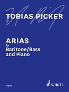 Arias for Baritone/Bass and Piano by Tobias Picker (HL-49044099)