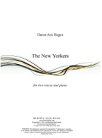 The New Yorkers for two voices and piano by Daron Hagen (Hagen 9)