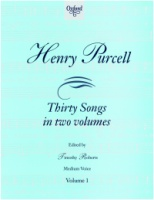 Henry Purcell Thirty Songs in two Volumes - Volume 1 Medium Voice (ISBN 0-19-345711-3)