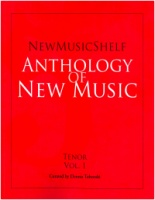 New Music Shelf Anthology - Tenor Volume 1 (ISBN 9781949614008)