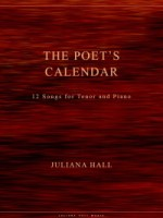 The Poet's Calendar - 12 Songs for Tenor and Piano (ISMN 979-0-3011-0030)