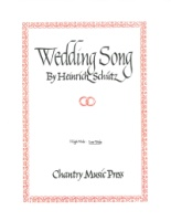 Wedding Song by Heinrich Schutz - Low Voice - E minor (VOS511L)