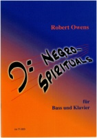 Six Negro Spirituals for Bass (Baritone) and Piano - A Cycle (os71.003)