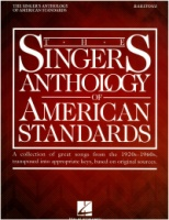 The Singer's Anthology of American Standards - Baritone Voice (238677)