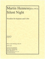 Silent Night (Vocalise for Soprano and Cello) (3217)