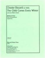 A Child Comes Every Winter (Zinsser) c#1-c#2  (Sacred Solo Voice) (3615)