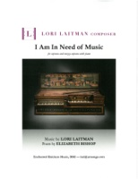 I Am in Need of Music (Elizabeth Bishop) (Soprano - Mezzo-Soprano and Piano) (3676)