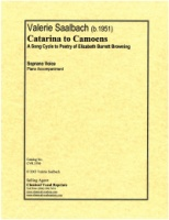 Catarina to Camoens (E. Barrett Browning) Song Cycle (3706)