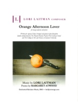 Orange Afternoon Lover (3 Poems of Margaret Atwood) (4096)