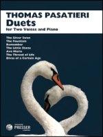 Thomas Pasatieri Duets for Two Voices and Piano (411-41123)