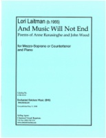 And Music Will Not End (Anne Ranasinghe and John Wood) (4153)