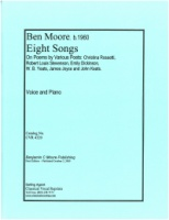 Eight Songs (Rossetti Stevenson Dickinson Yeats Keats) (4320)
