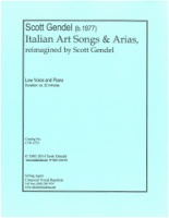 Italian Art Songs & Arias, reimagined by Scott Gendel (4753)