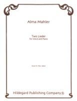 TWO LIEDER by Alma Mahler (491-00529)