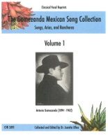 Gomezanda Mexican Song Collection, Volume 1 - Mexican Songs (5091)
