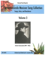 Gomezanda Mexican Song Collection, Volume 3 - Mexican Songs (5093)