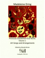 Art Songs and Arrangements Volume 1 - Previously Unpublished Vocal Works (5111)