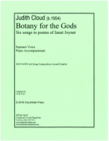 Botany for the Gods - Six Songs to Poems by Janet Joyner (5123)