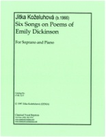 Six Songs on Poems of Emily Dickinson (5137)