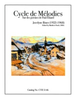 Cycle de Melodies sur des poemes de Paul Eluard (5146)