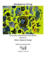 More Cabaret Songs - Volume 4 - Previously Unpublished Vocal Works (5148)