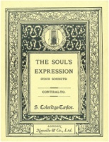 The Soul's Expression, Op. 42 - Four Sonnets by Elizabeth Barrett Browning (5160)