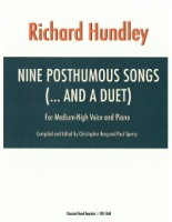 Nine Posthumous Songs and a Duet by Richard Hundley (5168)