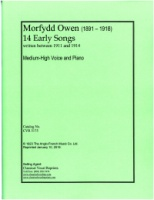 14 Early Songs written between 1911 and 1914 by Morfydd Owen (5175)
