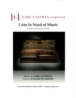 I Am In Need of Music - Mezzo-Soprano and Bass Voice (5212)