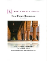 Dear Future Roommate (Mike Gioia) Tenor and Piano (5248)