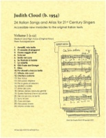 24 Italian Songs and Arias for 21st Century Singers, Vol. 1 (1-12) (5270)