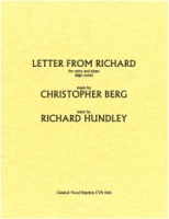 Letter from Richard (letter by Richard Hundley) High Voice (9038)