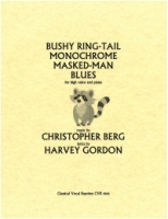 Bushy Ring-Tail Monochrome Masked-Man Blues (9043)