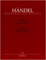 Aria Albums from Handel's Operas. Female Roles for High Voice (Soprano) (BA4295)