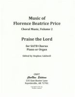 Praise the Lord - SATB Chorus & Piano or Organ (5 copy set) (CN97)