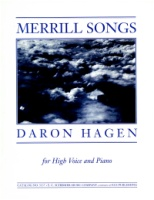 Merrill Songs by Daron Hagen (ECS5137)